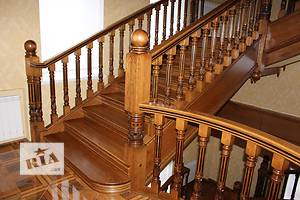 лестницы деревянные(сходи)