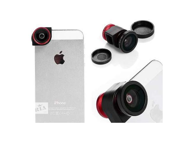 продам Olloclip 3-в-1 фото линзы для iPhone 5/5s бу в Черновцах