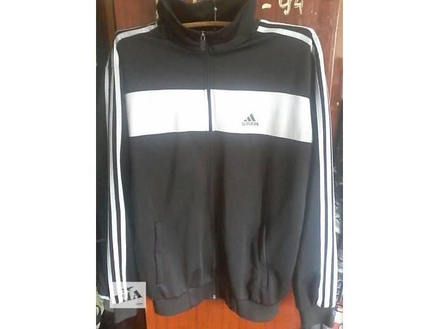 """продам Олимпийка """"Adidas"""" чёрная. размер XL  бу в Харькове"""