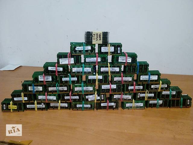Оперативна пам'ять DDR2- 1 ГБ для ноутбука ( можливий опт)- объявление о продаже  в Тернополе