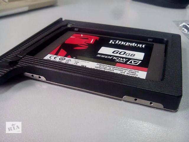 "бу Optibay Caddy Карман Переходник HDD/SSD Sata 9.5 -12,7mm 2.5"" в Киеве"