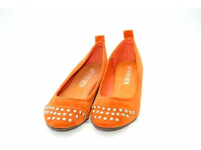 Оранжевые балетки - объявление о продаже  в Чернигове