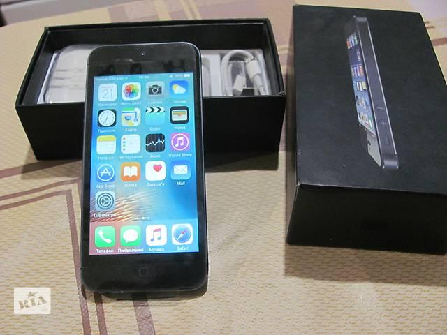 продам Оригінальний Apple iPhone 5 16GB  бу в Львове