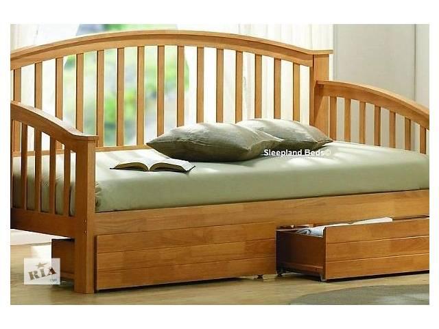 бу Дунай - оригинальная односпальная кровать из массива дерева, от производителя в Киеве