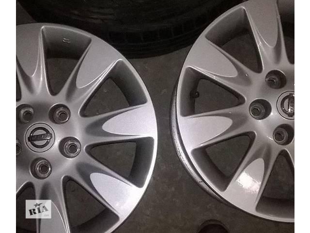продам Оригинальные Б/у диски для  Nissan R16 бу в Киеве