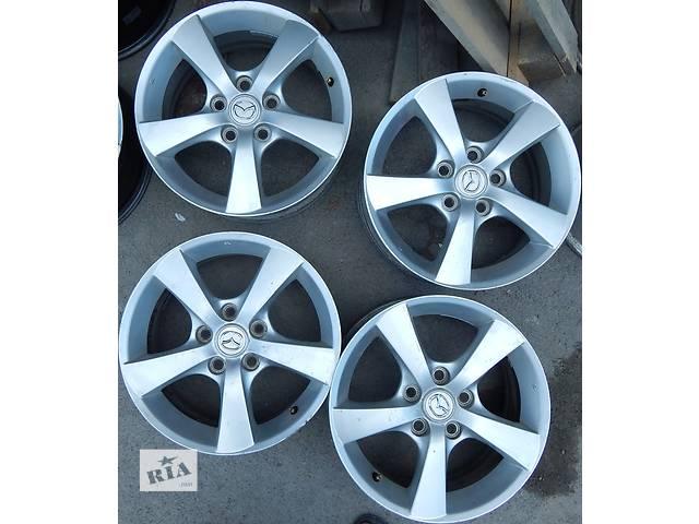 Оригінальні диски Mazda 3 6.5 R16 5x114.3 et42- объявление о продаже  в Виннице