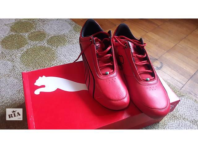купить бу Оригинальные мужские кроссовки PUMA кожаные!!! в Киеве