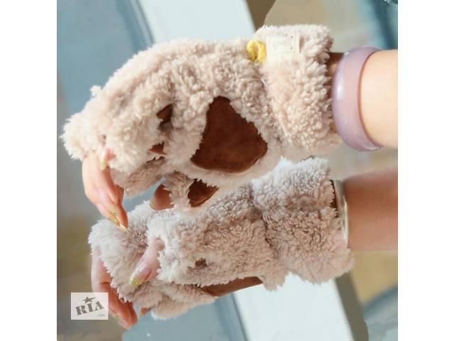 бу Оригинальные перчатки кошачьи лапы (рукавички,рукавицы без пальцев в Львове