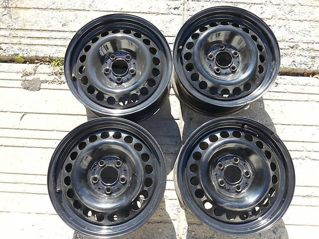 купить бу Оригинальные стальные диски R16, 6.5J, 5x112, ET42 Audi,Mercedes,VW,Skoda,Seat в Запорожье