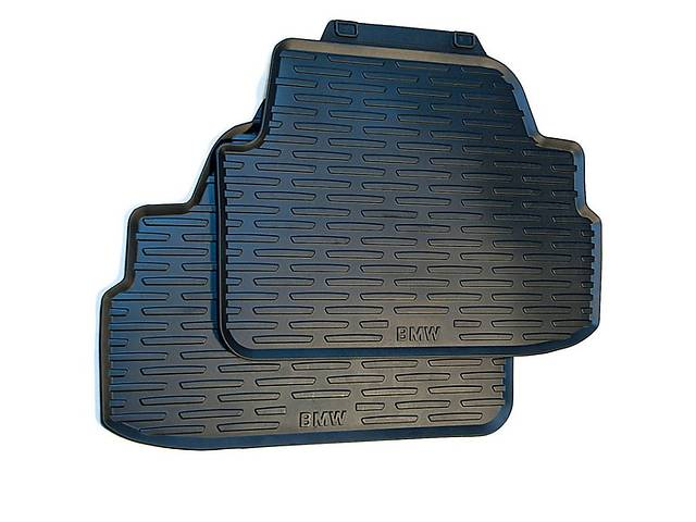 Оригинальные задние коврики для BMW 1 (E81/E82/E88) резиновые- объявление о продаже  в Одессе