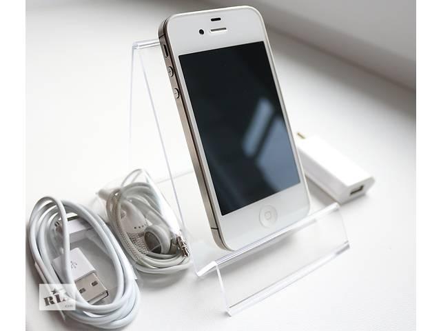 Оригинальный Apple iPhone 4S 64GB Белый Неверлок / White Newerlock- объявление о продаже  в Кременчуге