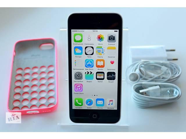 Оригинальный Apple iPhone 5C 16GB Белый Неверлок / White Newerlock- объявление о продаже  в Кременчуге