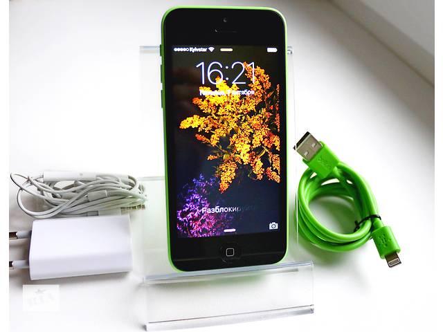 продам Оригинальный Apple iPhone 5C 16GB Зеленый Неверлок / Green Newerlock бу в Кременчуге