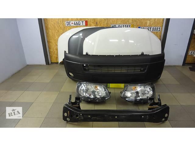 купить бу Комплектный передок Volkswagen Transporter T5 T6 с 2010-2015г. Капот бампер фары зеркала Т5 Запчасти Фольксваген Т5 в Киеве