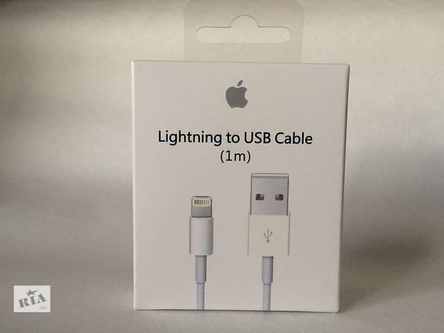 купить бу ОРИГИНАЛЬНЫЙ usb кабель lightning для iPhone 5/5s/6/6s iPad iPod с ГАРАНТИЕЙ! в Днепре (Днепропетровск)