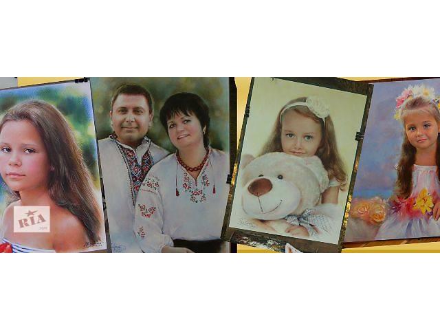 продам Оригинальный подарок портрет по фото на заказ бу  в Украине
