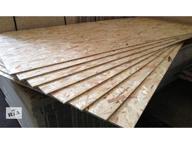 продам ОСБ плиты 10мм  1250х2500мм бу в Виннице