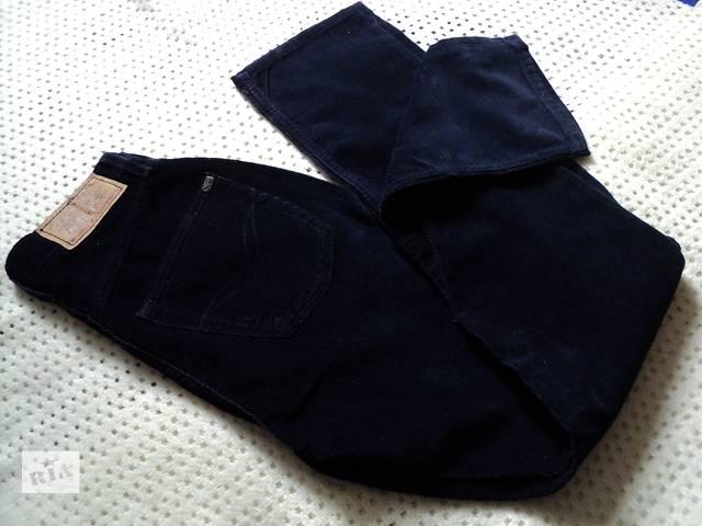 Оригинальные прямые штаны motor с завышенной талией! вельвет!26/32- объявление о продаже  в Чернигове