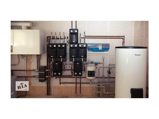 купить бу Особенности монтажа газовой котельной установки в Харькове