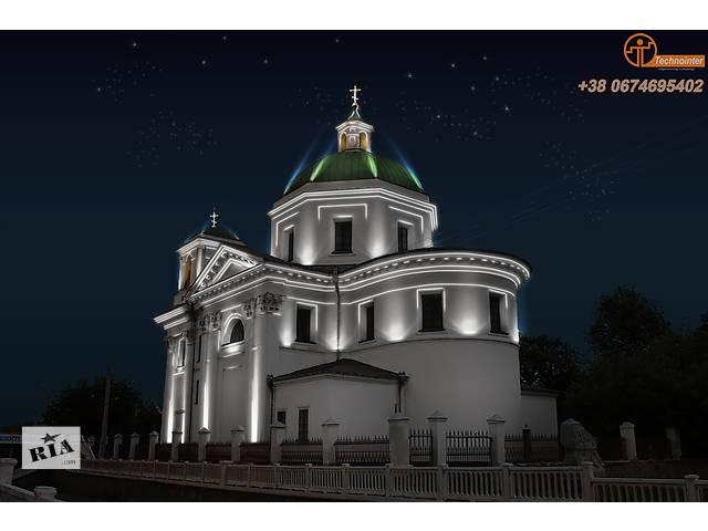 купить бу Освещение зданий под ключ от професионалов  в Украине