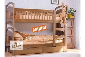 от производителя-двухъярусная кровать из массива дерева