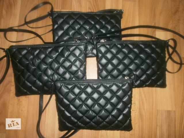 продам Отдам на реализацию Стеганные сумки из кож зама Ручной работы бу в Киеве