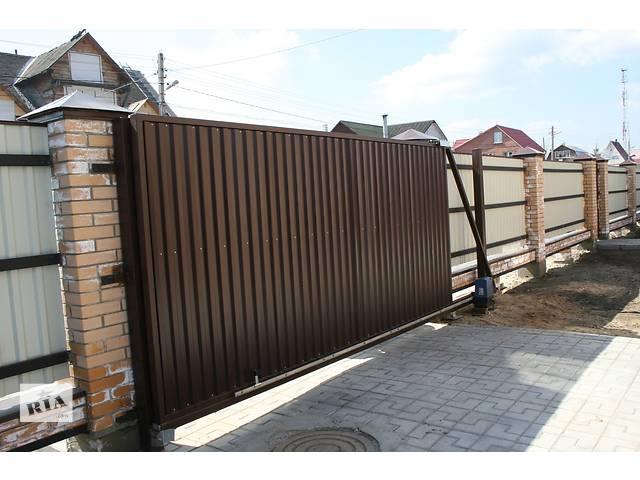Откатные ворота- объявление о продаже  в Кременчуге