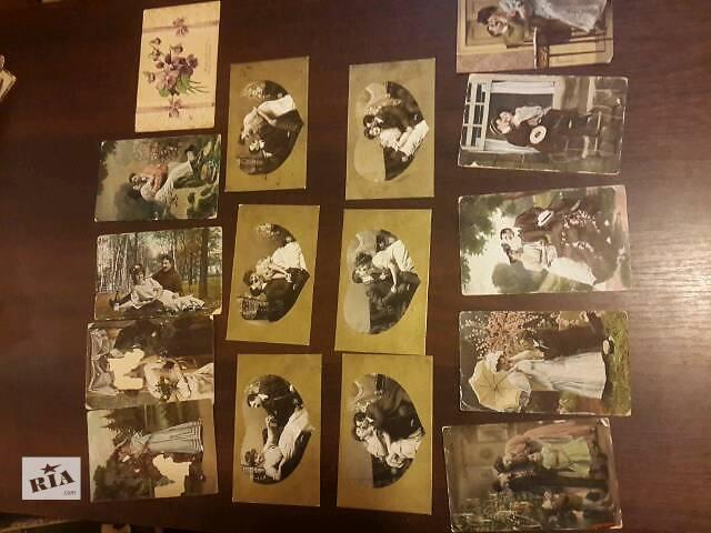 продам открытки старинные бу в Киеве