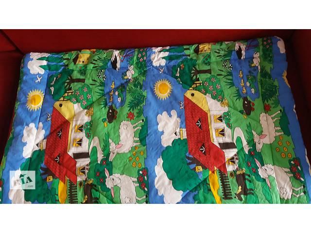 купить бу Отличное детское одеяло 125*96 см + подушка в Киеве