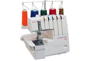 Швейная машинка с оверлоком