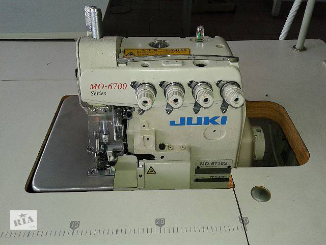 продам Оверлоки:Juki MO 6716,KansaySpecial 1004,Siruba747,Typical795. бу в Хмельницком