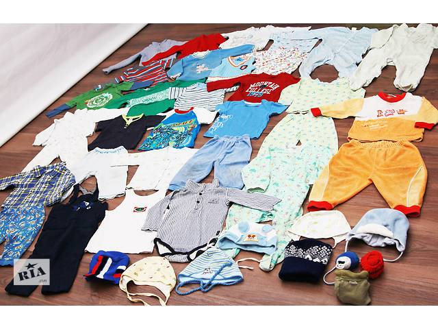 Пакет ДЕТСКОЙ одежды 1-2 года для мальчика! - объявление о продаже  в Киеве