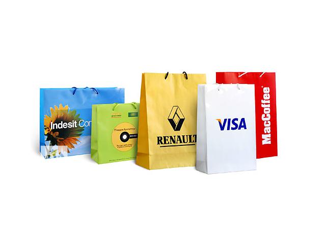 бу Пакеты бумажные купить, изготовление в Киеве (Украина)  в Украине