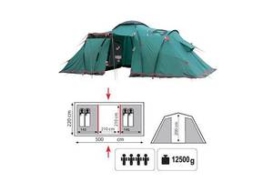 Новые Палатки четырехместные Tramp