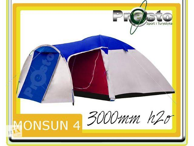 Палатка MONSUN 4 4-х местная- объявление о продаже  в Тернополе