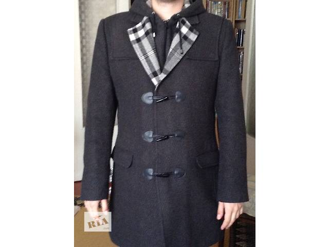 бу Пальто демисезонное, шерсть 70%, размер М в Киеве