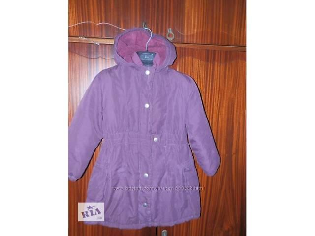 пальто на 4-6 лет- объявление о продаже  в Новомосковске