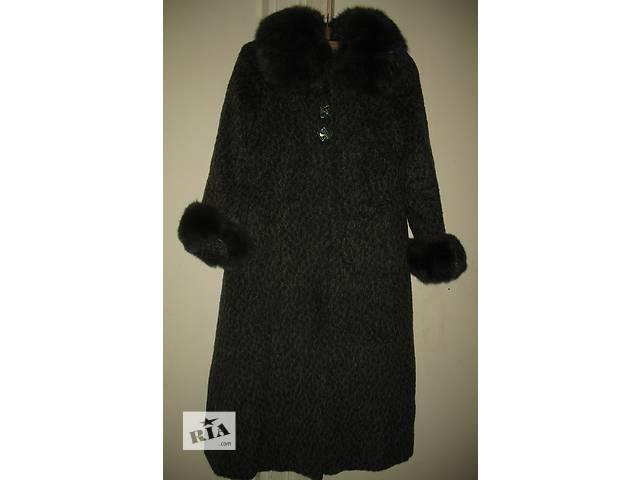 продам Пальто шерстяное демисезонное р44 бу в Киеве
