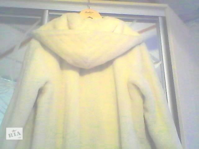 Пальто-шуба из натуральной шерсти альпака. Оригинал. - объявление о продаже  в Купянске