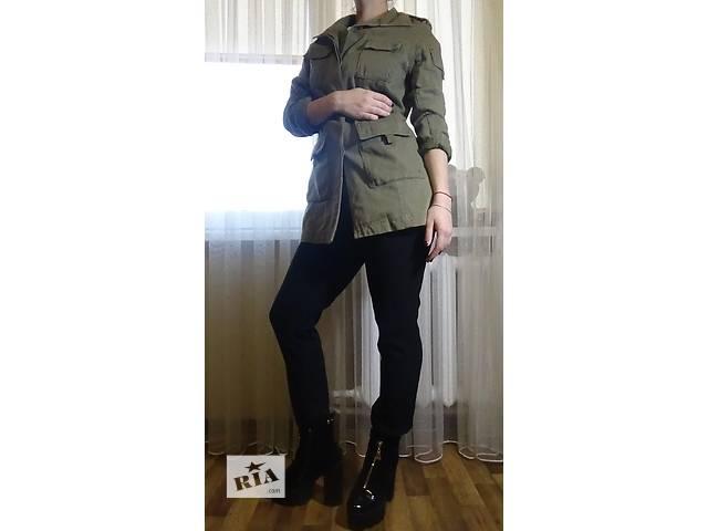 купить бу Пальто цвета хаки в Харькове