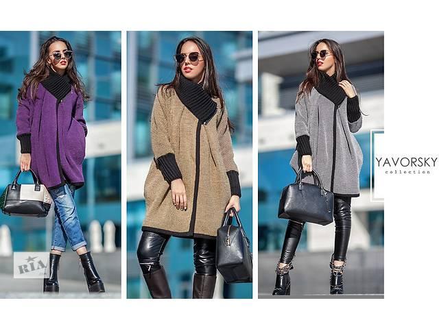 купить бу Пальто вязанное женское в Полтаве
