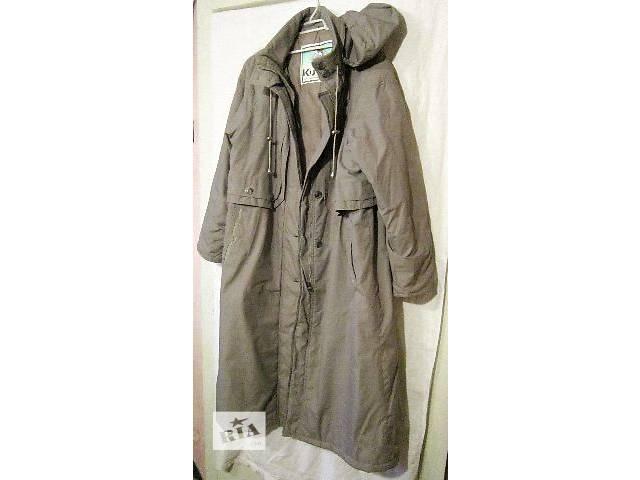 бу Пальто женское теплое из плотной плащевой ткани,размер 50-52.Новое в Днепре (Днепропетровске)