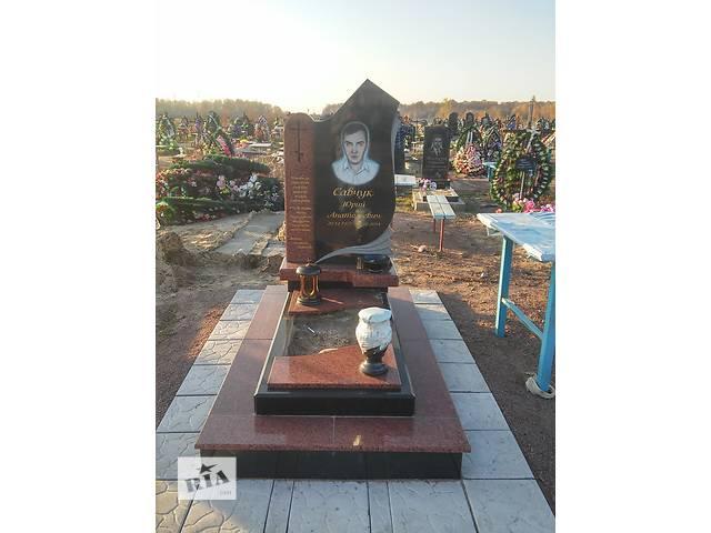 купить бу Памятники гранітні з Коростишова, виготовляємо  в Украине
