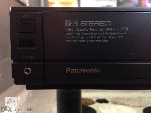 Panasonic NV-H75 HIFI STEREO- объявление о продаже  в Кривом Роге