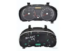 б/у Панели приборов/спидометры/тахографы/топографы Hyundai Accent
