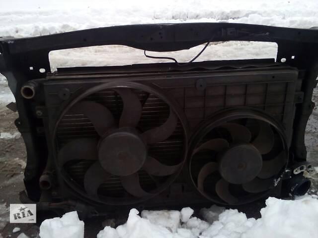 бу панель радиаторы воды конд .интеркулер вентиляторы OCTAVIA A5 1.9TDI. в Ровно