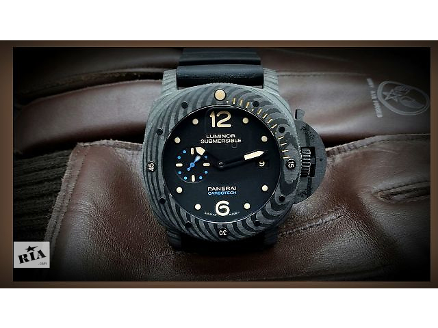 купить бу PANERAI - PAM 616 Luminor Submersible 1950 CARBOTECH™ 3 Days в Киеве