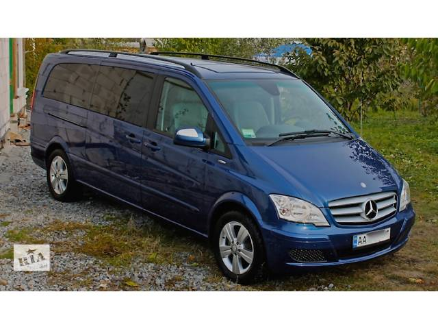 купить бу Пассажирские перевозки микроавтобусом mercedes viano extra long 7 мест  в Украине
