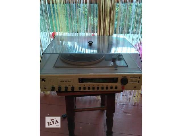 Патифон -Музыкальный центр- объявление о продаже  в Залещиках