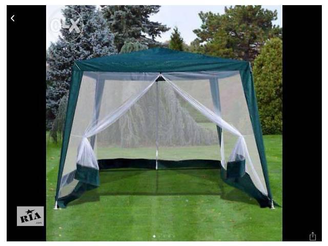 купить бу Павильон палатка с москитной сеткой на молнии 3/3 в Запорожье